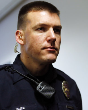 Aurora police Officer Jason Oviatt in 2013. (AP file)