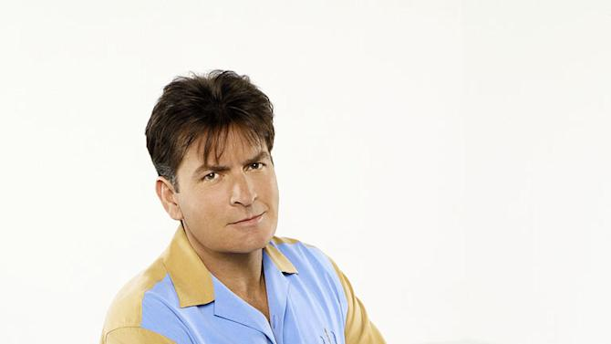"""Charlie Sheen stars as Charlie Harper in """"Two and a Half Men."""""""