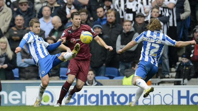Championship - Brighton dump Newcastle out again