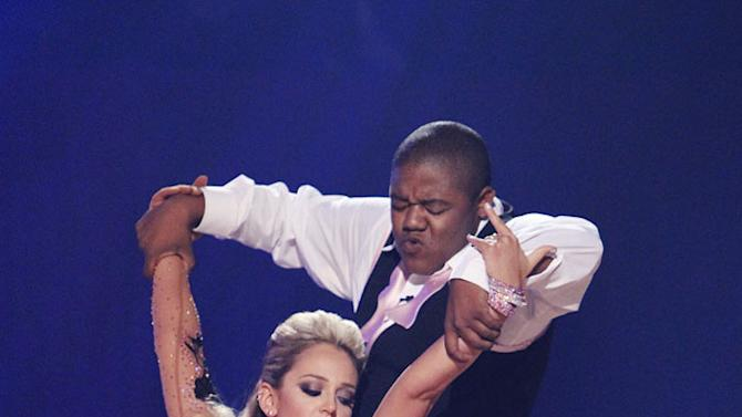 """Lacey Schwimmer and Kyle Massey perform on """"Dancing with the Stars."""""""