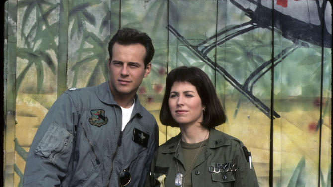 """China Beach"" TIM RYAN;DANA DELANY"