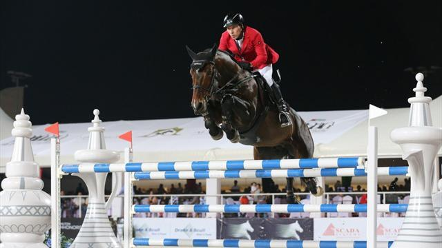 Equestrianism - Dreher's star continues to rise