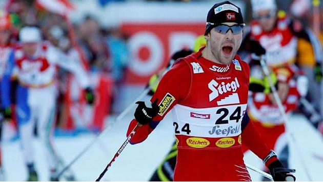 Nordic Combined - Moan delights home crowd by winning first World Cup race