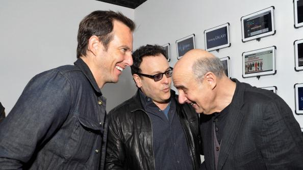 Will Arnett, Mitch Hurwitz and Jeffrey Tambor