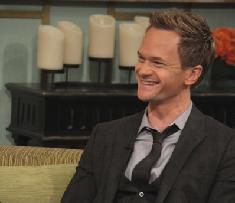 Neil Patrick Harris chats with Billy Bush and Kit Hoover on Access Hollywood Live on January 30, 2012 -- Access Hollywood