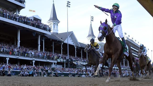 Horse Racing - California Chrome arrives in New York for Belmont