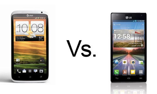 LG Optimus 4X HD vs HTC One X. Phones, Mobile phones, HTC, LG, LG Optimus 4X HD, HTC One X, Features, MWC2012 0