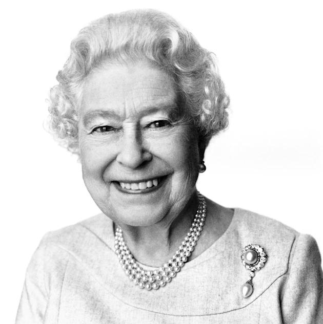 This portrait of Queen Elizabeth II taken and made available at 12:00 GMT Sunday, April 20, 2014, by British photographer David Bailey has been released to mark her 88th birthday on Monday April 21, 2