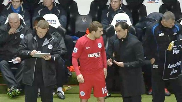 Wigan, James McArthur and Roberto Martinez