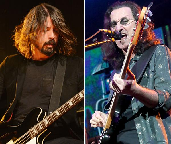 Dave Grohl, Taylor Hawkins to Induct Rush Into Rock and Roll Hall of Fame