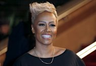 British singer Emeli Sandé pictured at the Palais des Festivals in Cannes, southeastern France. during the 14th Annual NRJ Music Awards on January 26, 2013. Sandé, Mumford and Sons and Mercury Prize-winning indie rockers Alt-J lead the nominations at Wednesday's Brit Awards, competing for three gongs each