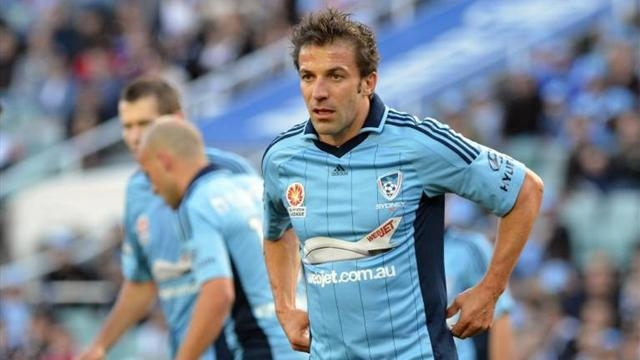 Asian Football - Del Piero could join A-League farewells on final weekend