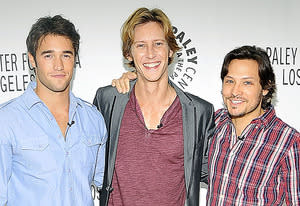 Josh Bowman, Gabriel Mann and Nick Wechsler | Photo Credits: John M. Heller/Getty Images