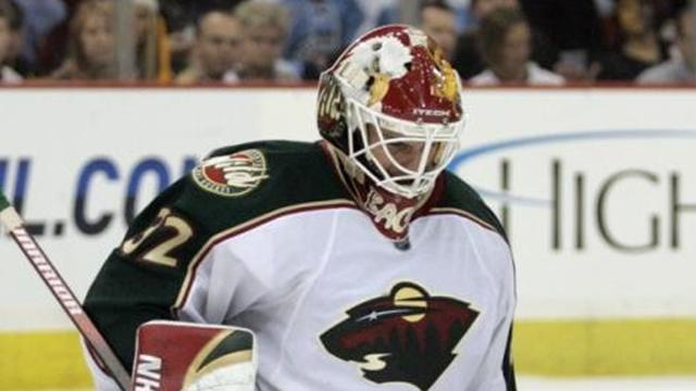 Ice Hockey - Veteran goalie Backstrom re-signs with the Wild