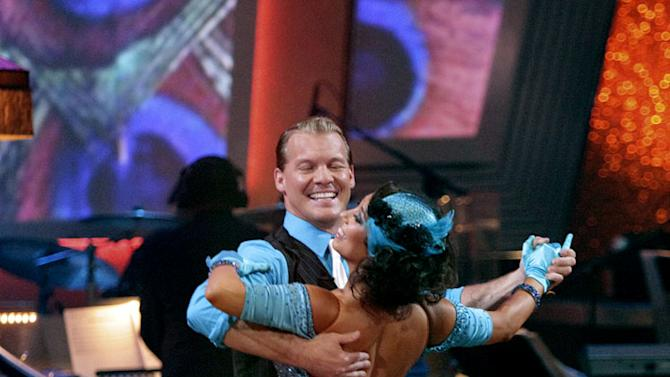 """Chris Jericho and Cheryl Burke perform on """"Dancing with the Stars."""""""