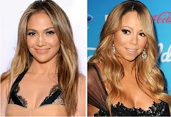 Jennifer Lopez, Mariah Carey | Photo Credits: Michael Buckner/Getty Images; Jason LaVeris/FilmMagic