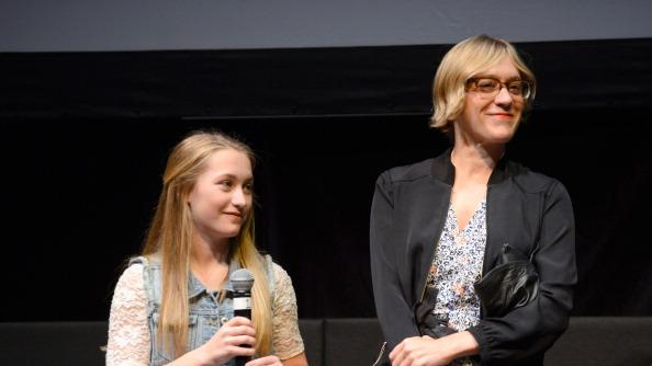 Lana Green and Chloe Sevigny