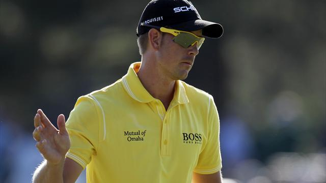 Golf - Stenson three clear in South Africa