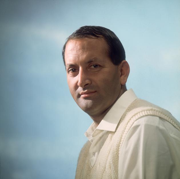 A portrait of Cricketer Basil D'Oliveira