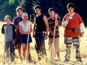 Rory Culkin , Trevor Morgan , Carly Schroeder , Scott Mechlowicz , Ryan Kelley and Josh Peck in Paramount Classics' Mean Creek
