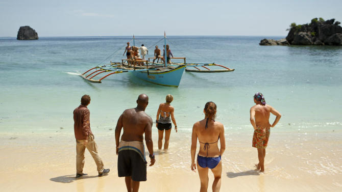 """Survivor: Caramoan - Fans vs. Favorites"" -- ""Blindside Time"""