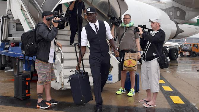 Premier League - Balotelli leaves Melwood after talks over £16m Liverpool move