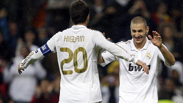 Liga - Higuain and Benzema passed fit by Real