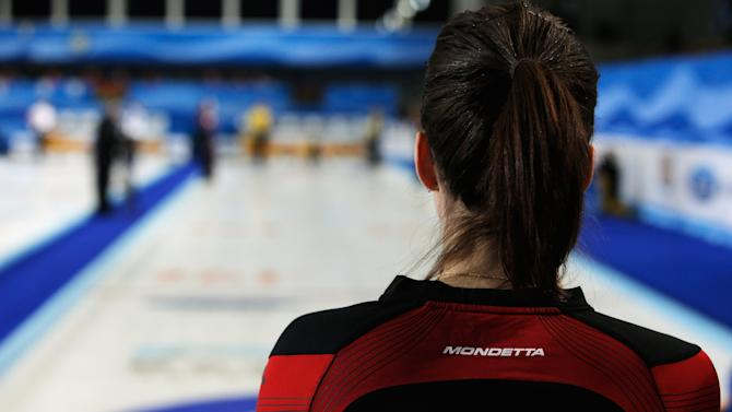 World Women's Curling Championship - Day Four