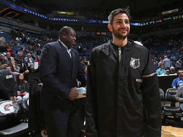 Ricky Rubio returns. (Getty Images)