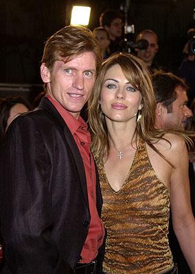 Denis Leary and Elizabeth Hurley at the Hollywood premiere of New Line's Blow
