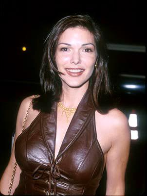 Laura Harring at the Hollywood premiere of Disney's The Straight Story