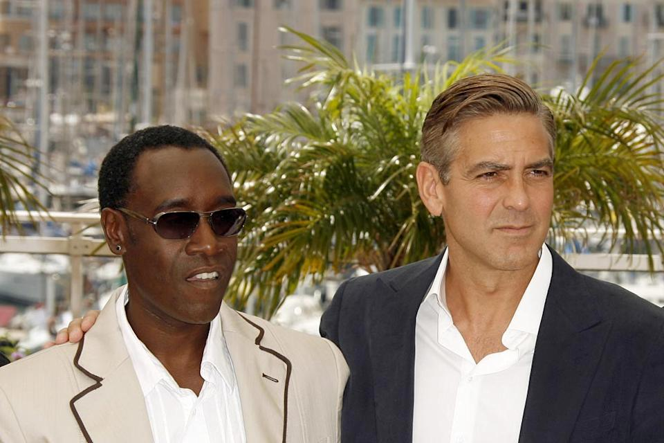 Don Cheadle George Clooney 2007