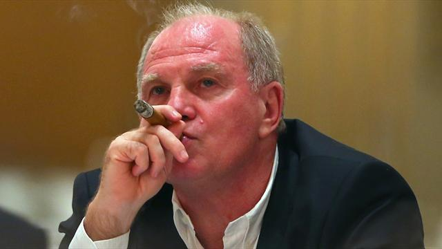 Bundesliga - Bayern chief Hoeness to go on trial on tax evasion charges