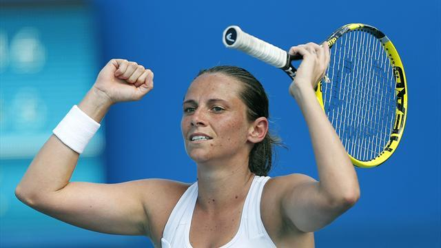 Tennis - Vinci, Makarova among completed field for Aegon Classic