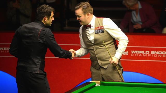 Snooker - O'Sullivan dismantles Murphy as Hawkins resists Dale recovery