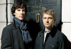 Benedict Cumerbatch and Martin Freeman | Photo Credits: Hartswood Films/BBC for MASTERPIECE