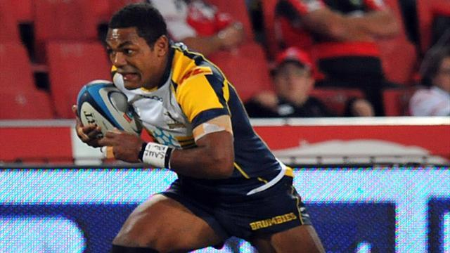 Super Rugby - Brumbies seal play-offs berth after smashing Rebels