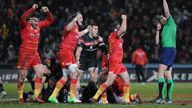 Top 14 - Perpignan claim historic win in Toulouse