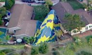 Wedding Balloon Crash Captured On Video