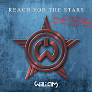 """Mars Edition"" album art for will.i.am's new single ""Reach for the Stars,"" as radioed from the Red Planet."
