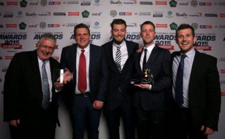Soccer - The Football League Awards 2015 - The Brewery - London