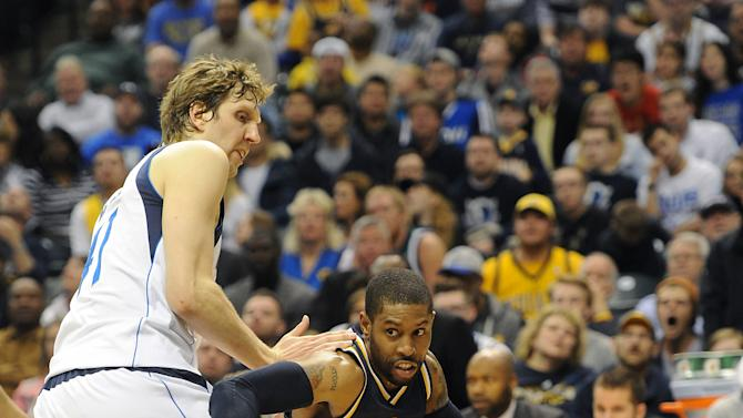 NBA: Dallas Mavericks at Indiana Pacers