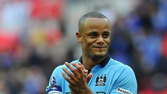 Football - Kompany wary of Wigan