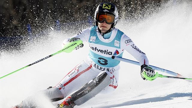 Alpine Skiing - Zettel ends drought with Aspen slalom victory