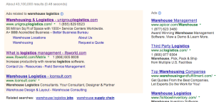 Why Depending Solely On PPC Is A Very Big Marketing Fail image PPC warehouse logistics screencap
