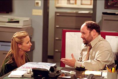 """Jason Alexander and Lisa Kudrow in """"The One Where Rosita Dies"""" in NBC's Friends"""