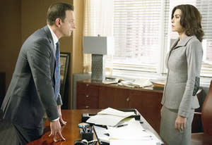Josh Charles and Julianna Margulies | Photo Credits: David M. Russell/CBS