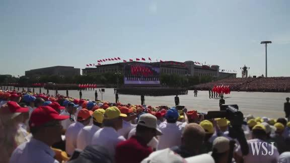 Watch China's 90-Minute Military Parade in 60 Seconds