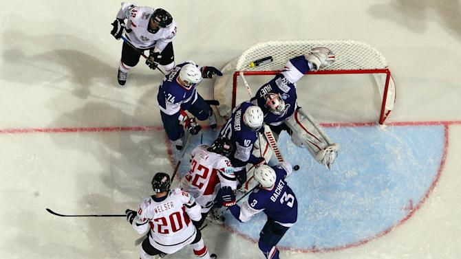 France v Austria - 2013 IIHF Ice Hockey World Championship
