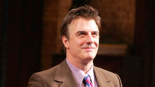 Chris Noth That Championship Season Broadway Opening Night